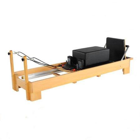 Pilates-reformer drewniany H01