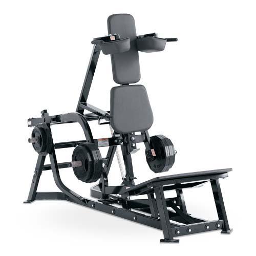 Urządzenie do ćwiczenia mięśni ud- hack maszyna D27
