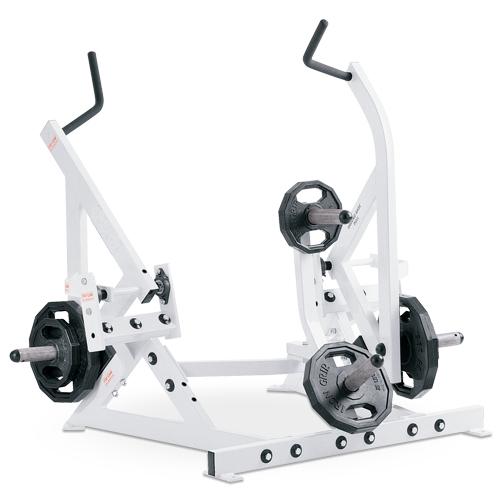 Urządzenie do ćwiczeń mięśni najszerszych grzbietu- stojąc D63