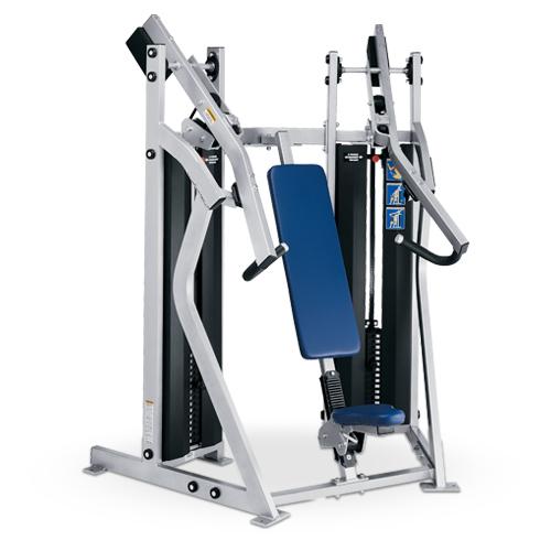 Urządzenie do ćwiczeń mięśni klatki piersiowej- wypychanie D69