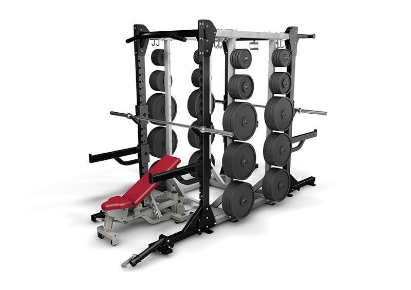 Klatka power rack HD Elite (bez ławeczek i sztang)