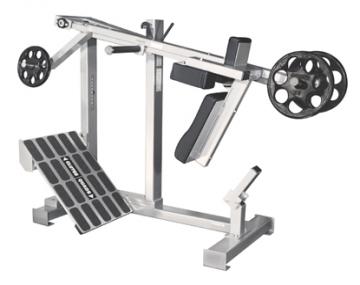 Ćwiczenie mięśni nóg/ wyciskanie pod kątem w górę D99